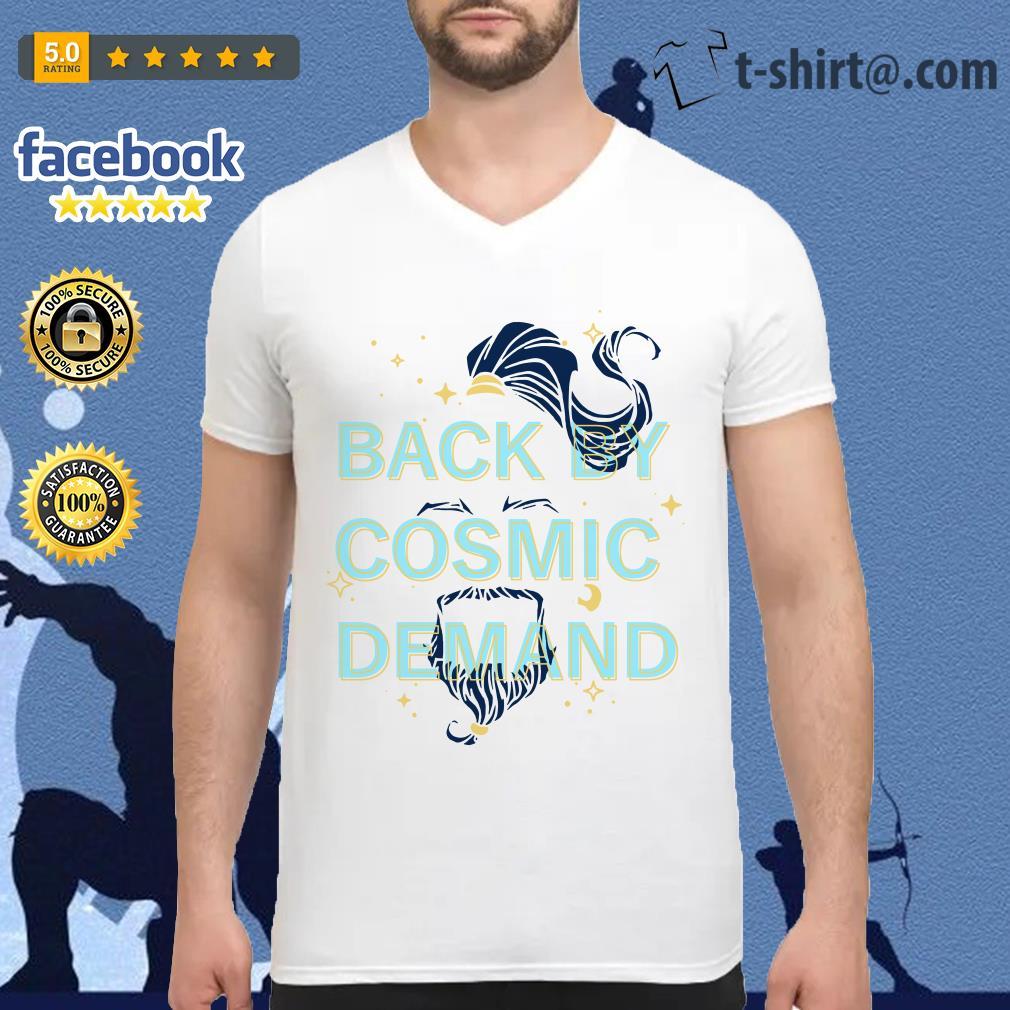 Disney Aladdin 2019 back by cosmic demand V-neck T-shirt