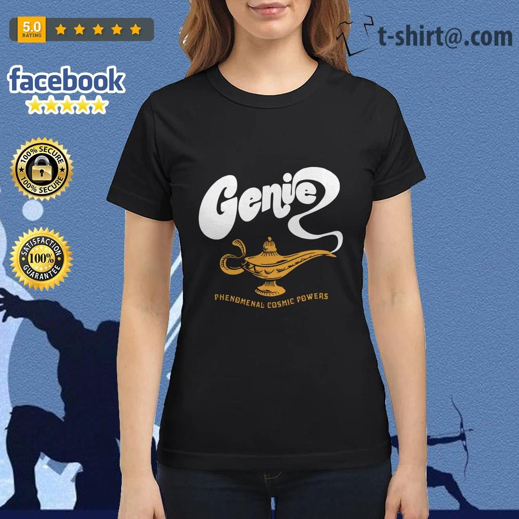 Disney Aladdin 2019 Genie phenomenal cosmic power Ladies Tee
