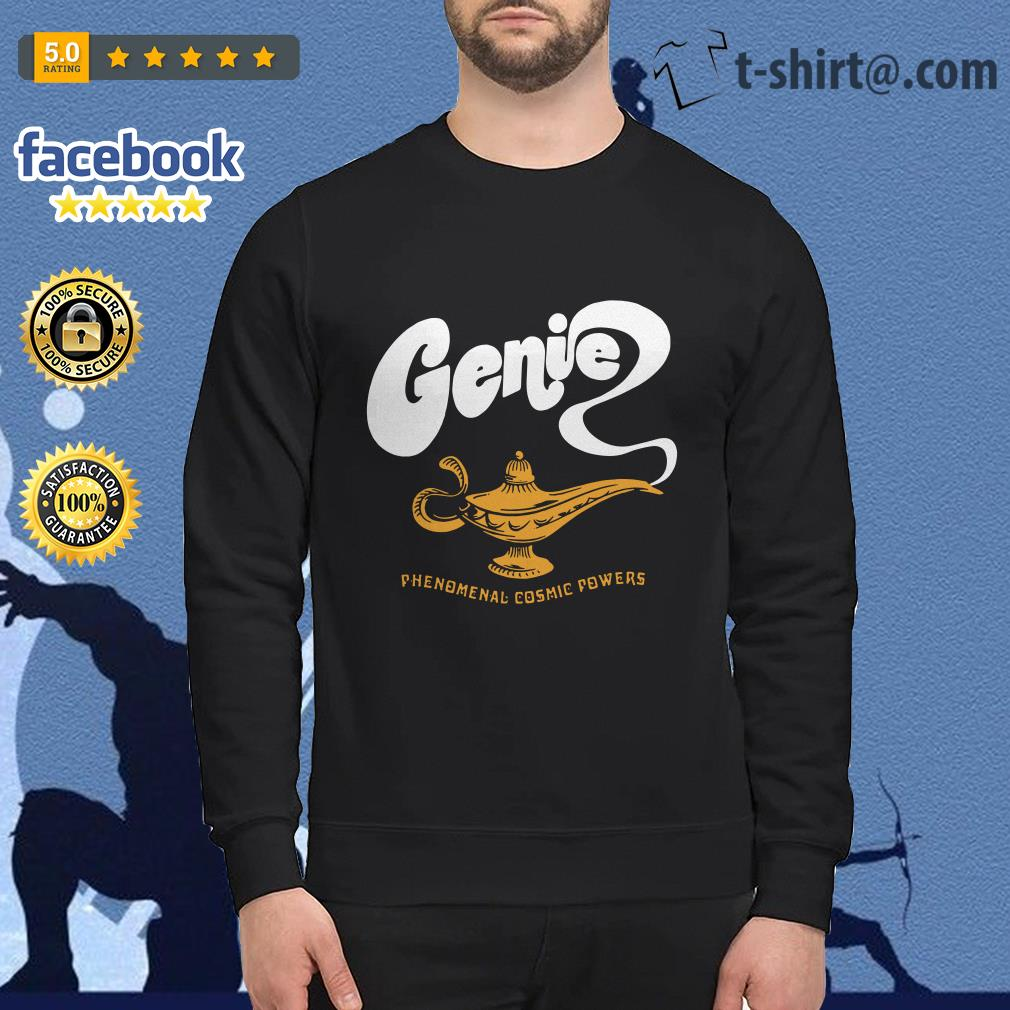 Disney Aladdin 2019 Genie phenomenal cosmic power Sweater