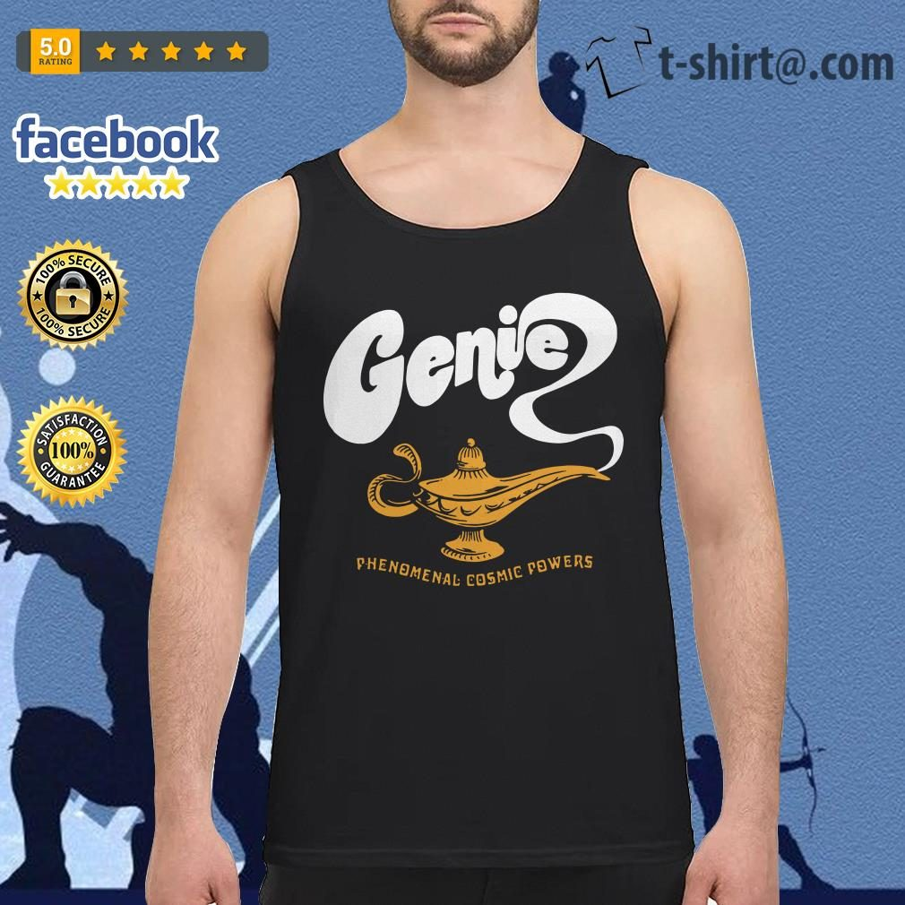 Disney Aladdin 2019 Genie phenomenal cosmic power Tank top