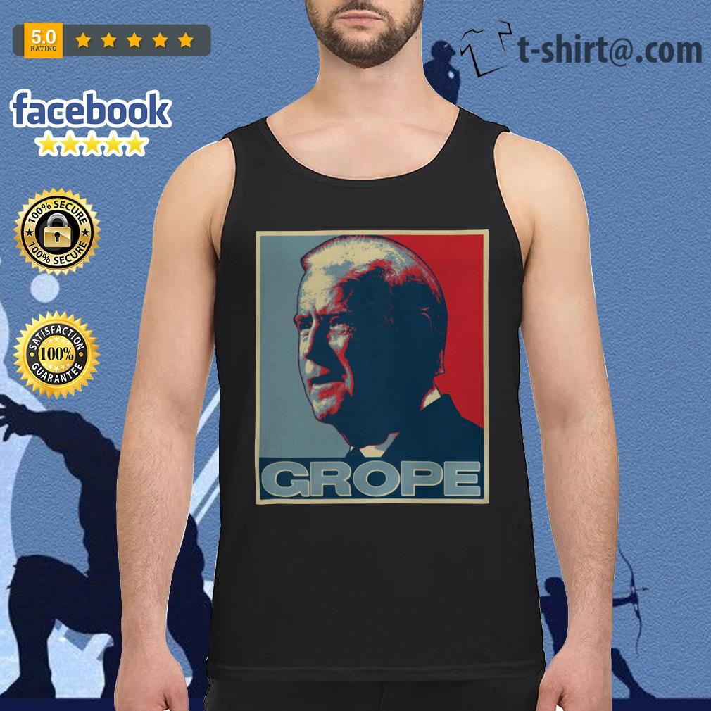 Donald Trump Grope poster Tank top