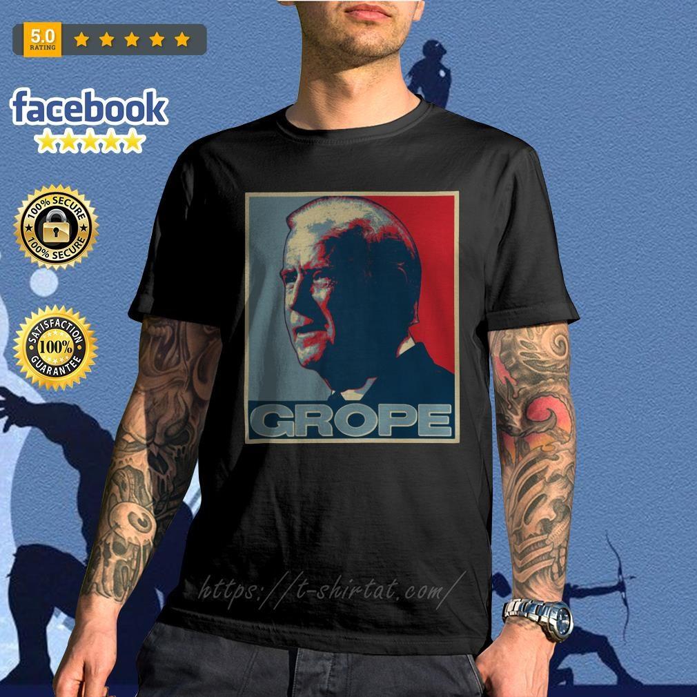 Donald Trump Grope poster shirt