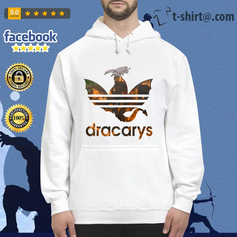 Drogon Dracarys fire adidas Game of Thrones Hoodie