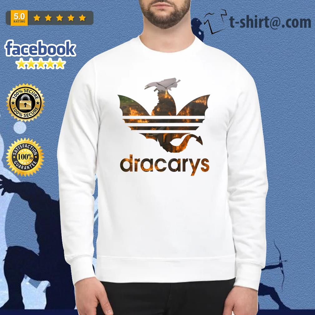 Drogon Dracarys fire adidas Game of Thrones Sweater