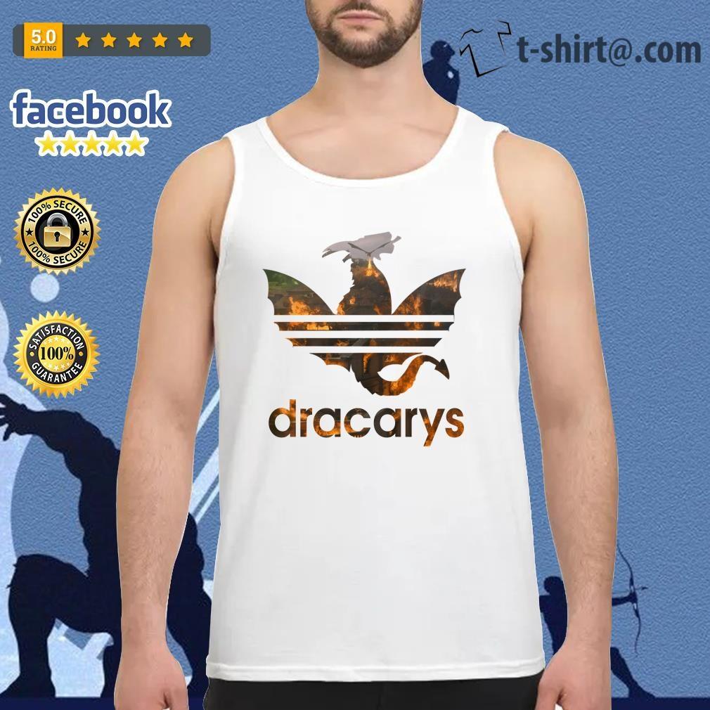 Drogon Dracarys fire adidas Game of Thrones Tank Top