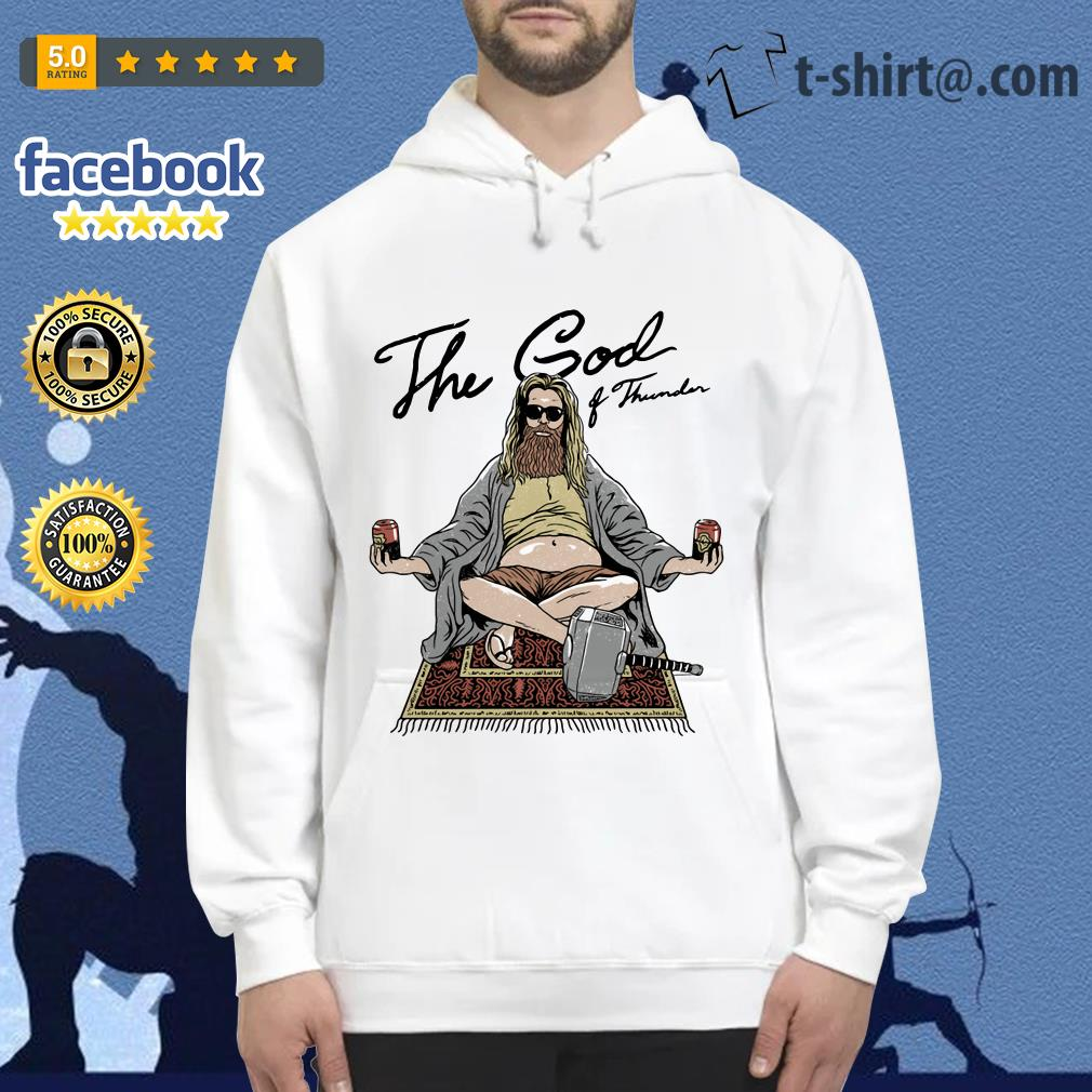 Fat Thor the God of Thunder Hoodie