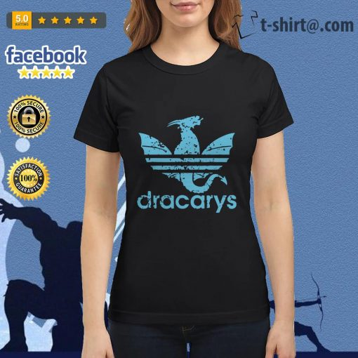 Game of Thrones adidas dracarys blue Ladies Tee