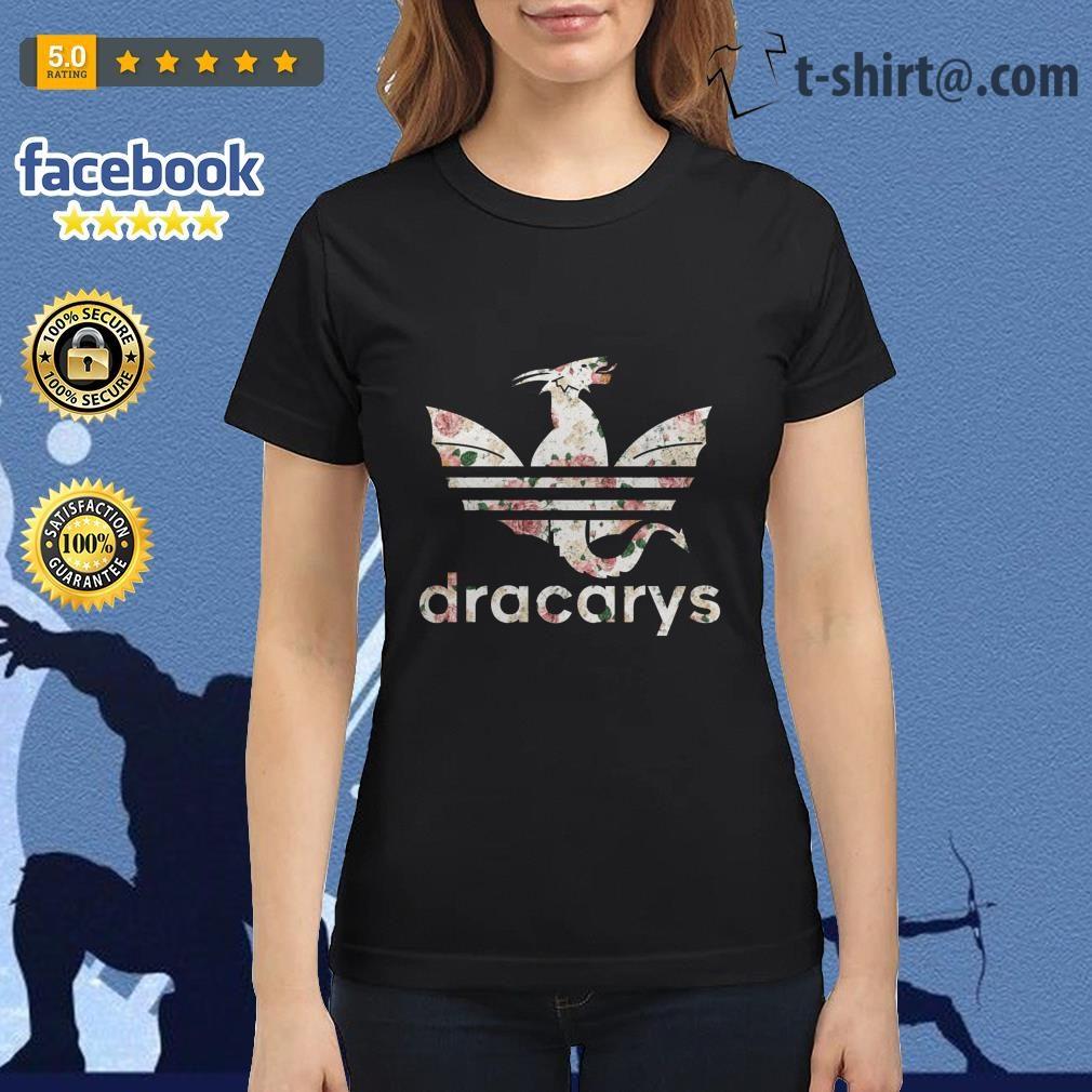 Game of Thrones adidas Dracarys roses Ladies Tee