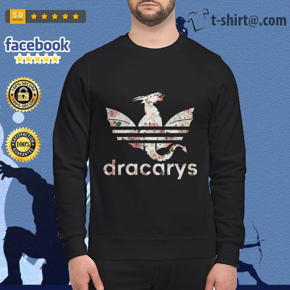 Game of Thrones adidas Dracarys roses Sweater