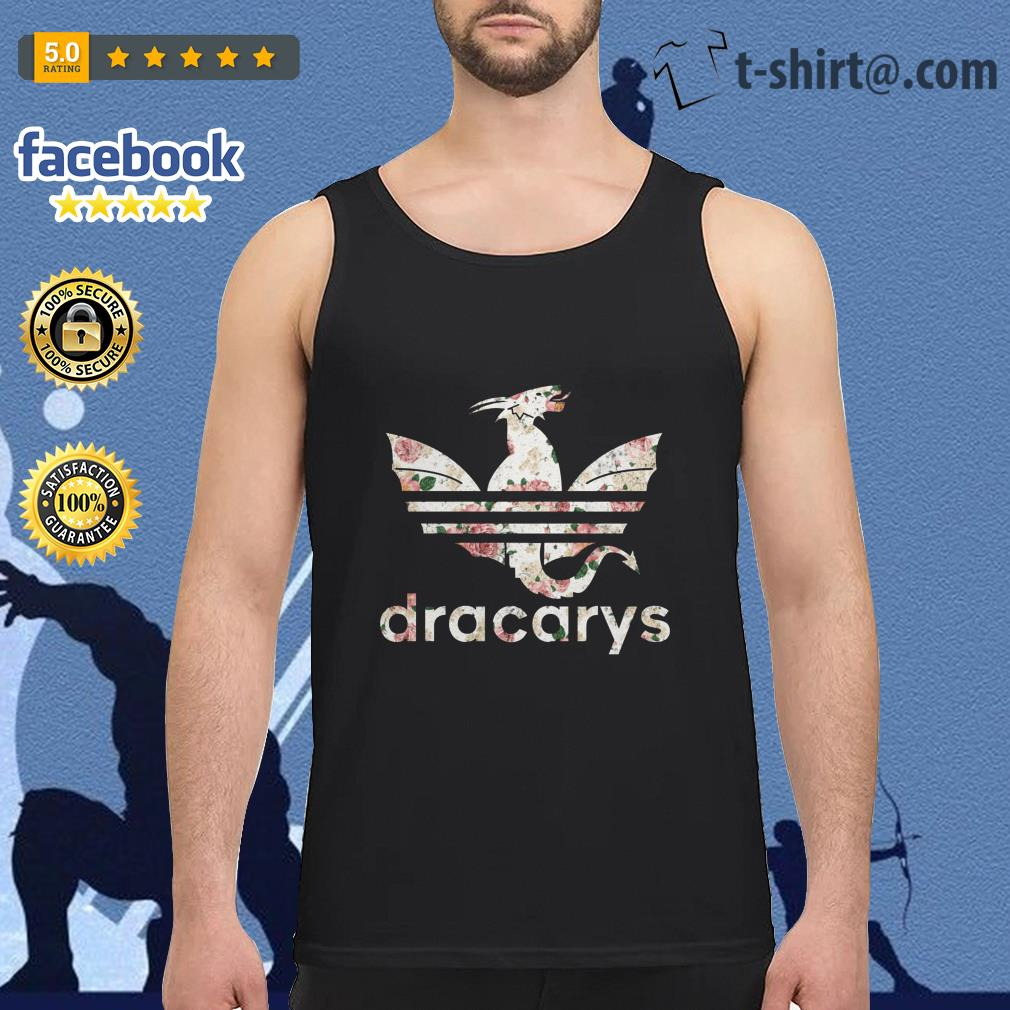 Game of Thrones adidas Dracarys roses Tank top