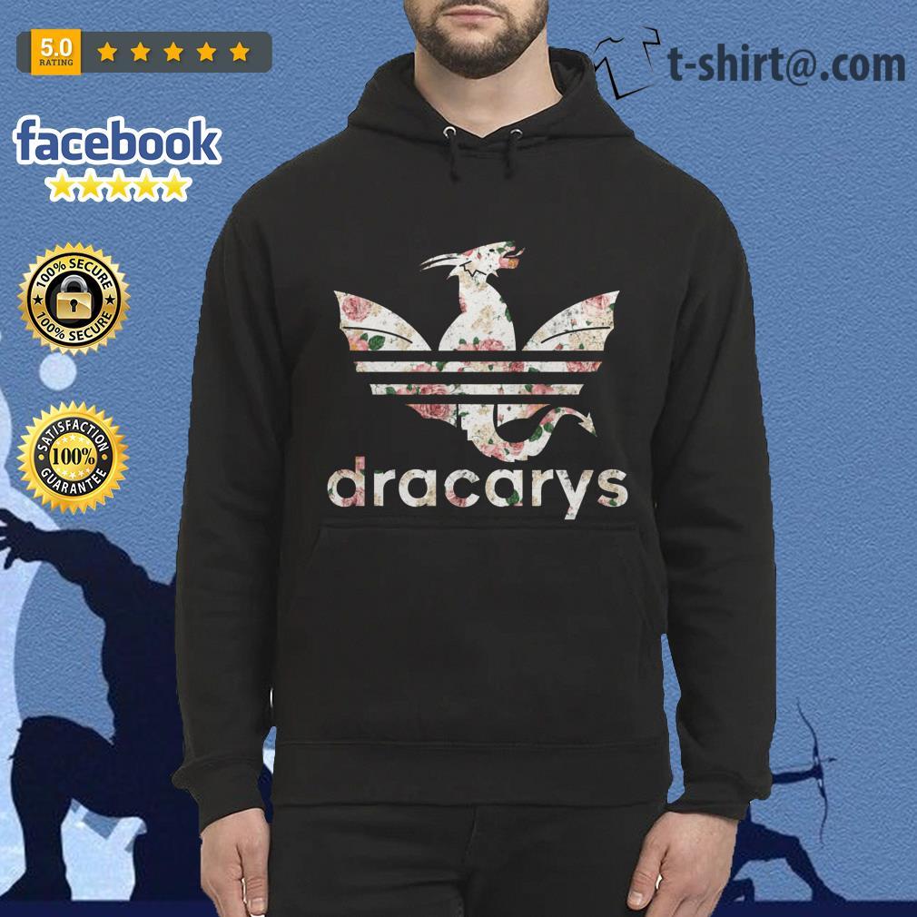 Game of Thrones adidas Dracarys roses Hoodie