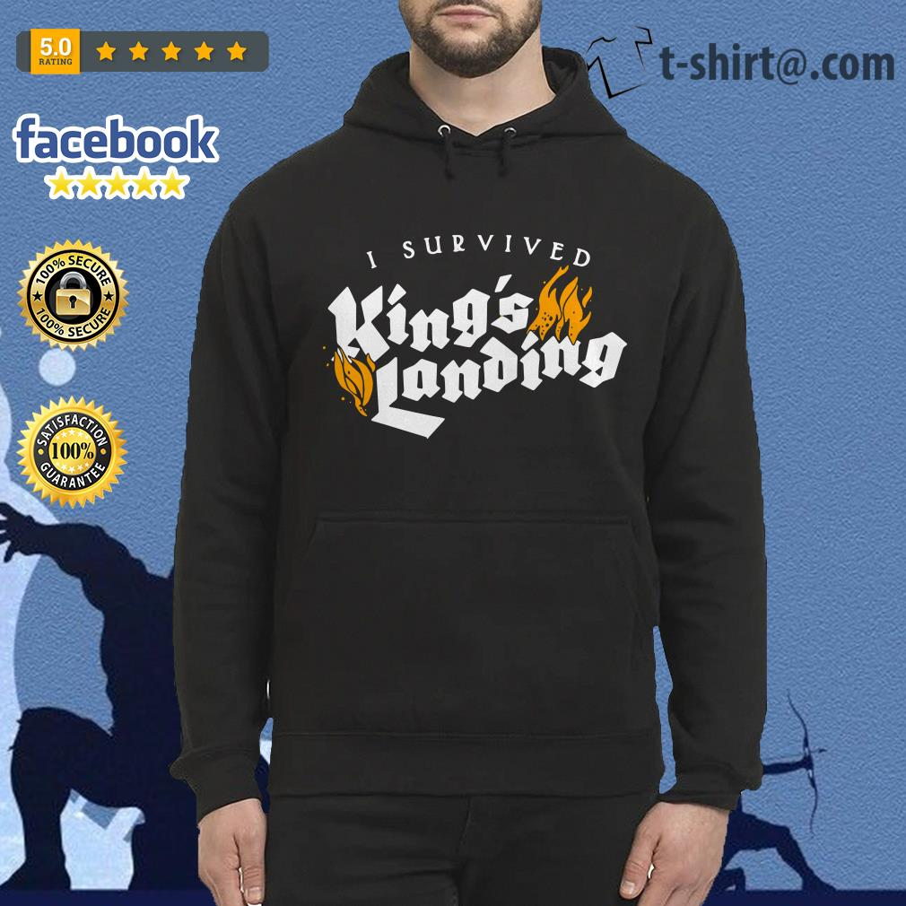 I survived King's landing Hoodie