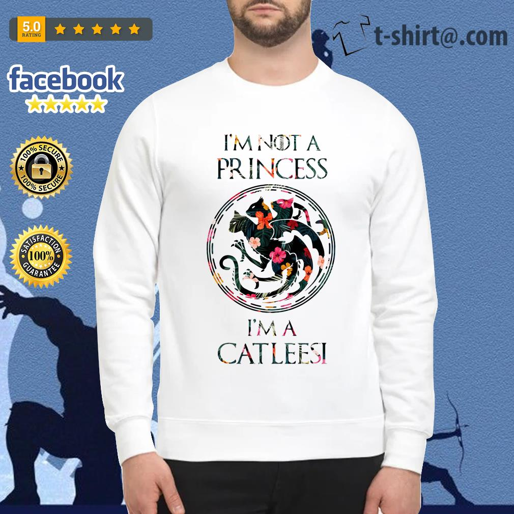 I'm not a princess I'm a Catleesi Drago Sweater