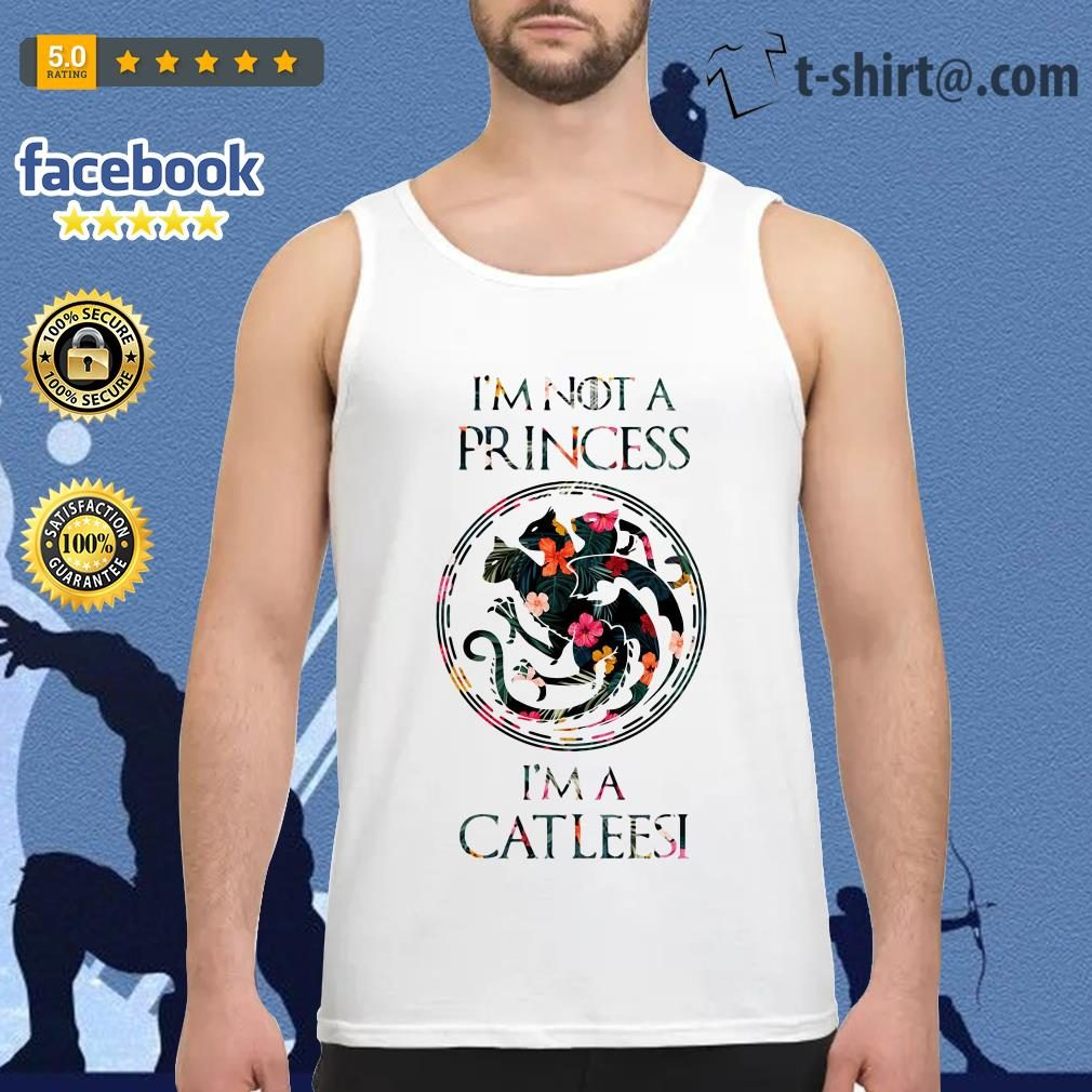 I'm not a princess I'm a Catleesi Drago Tank top
