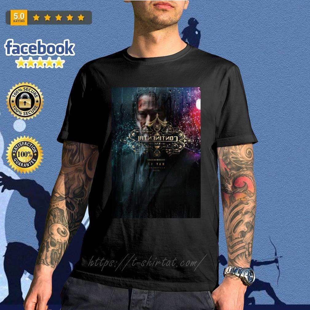 John Wick chapter 3 Parabellum' trailer digital printing leisure shirt