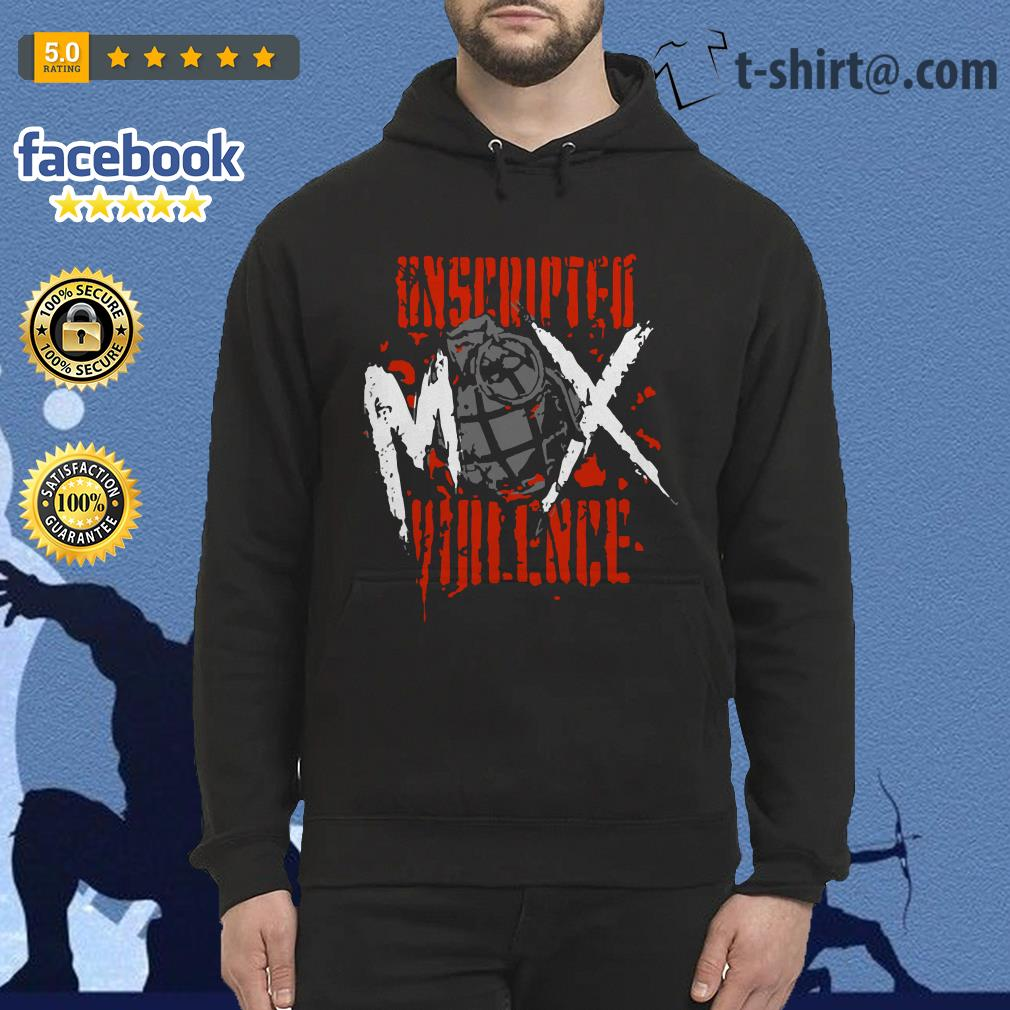 Jon Moxley Unscripted Violence Hoodie