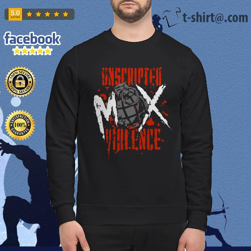 Jon Moxley Unscripted Violence Sweater