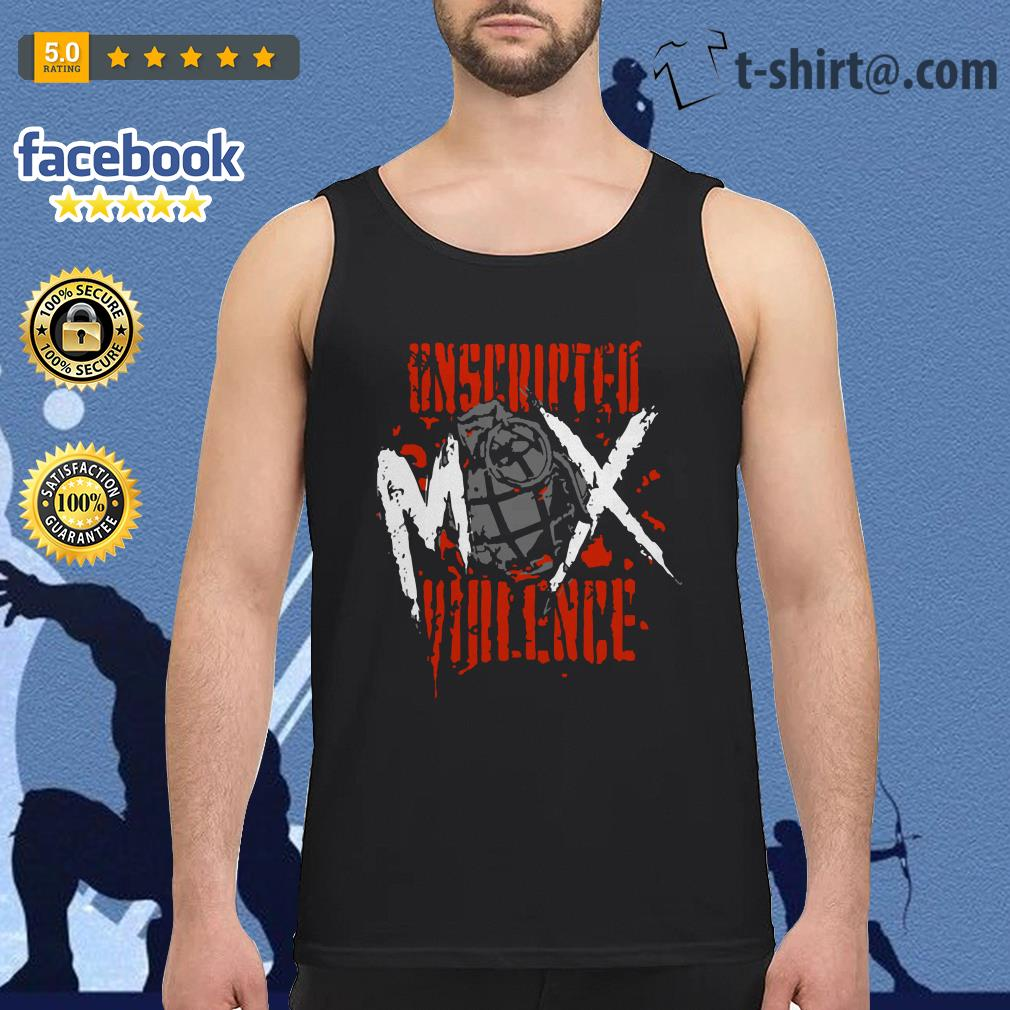 Jon Moxley Unscripted Violence Tank top