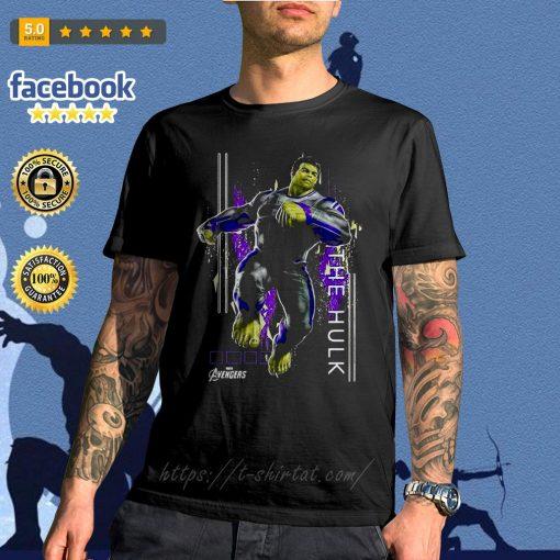 Marvel Avengers Endgame Hulk action Pose shirt