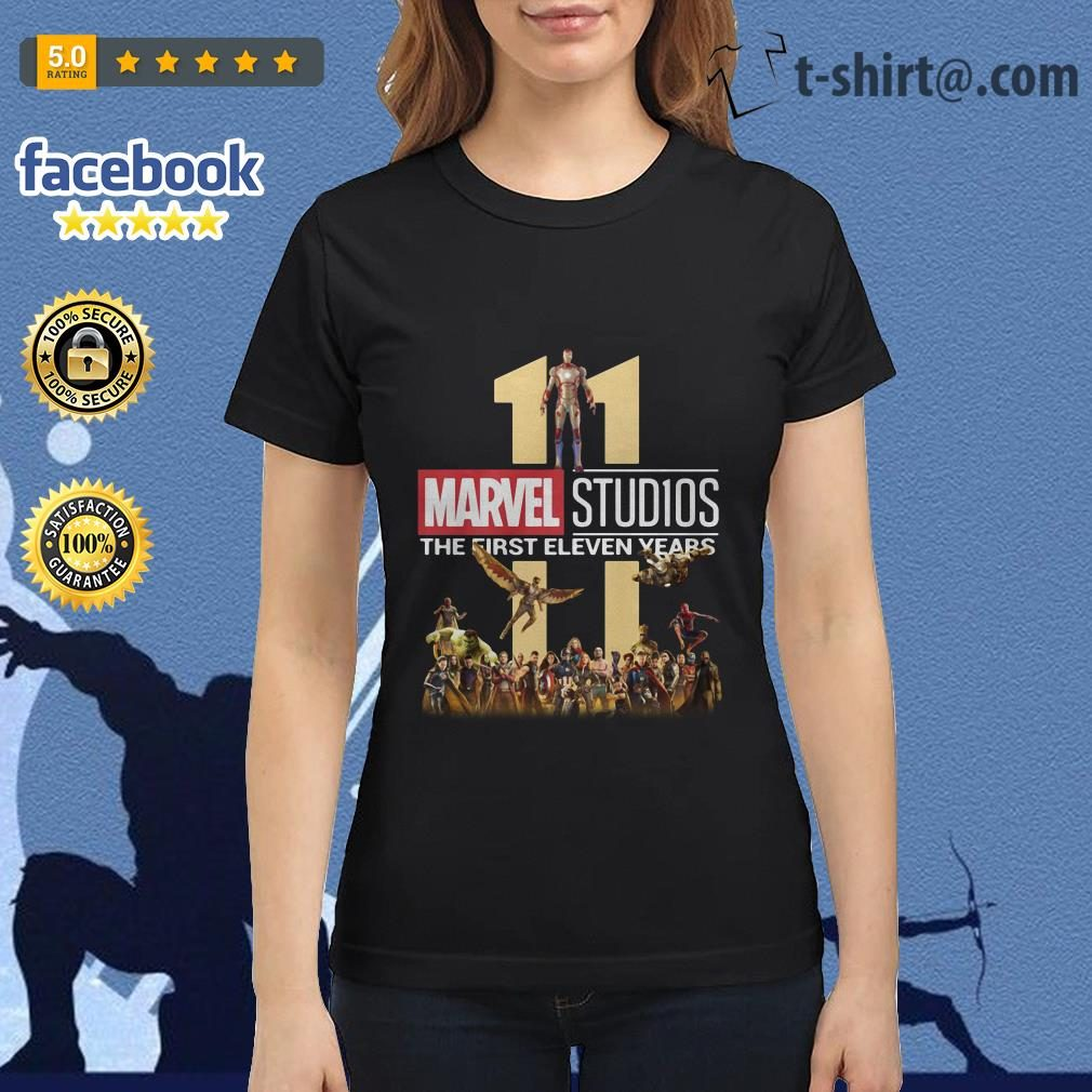 Marvel Studios the first eleven years Ladies-tee
