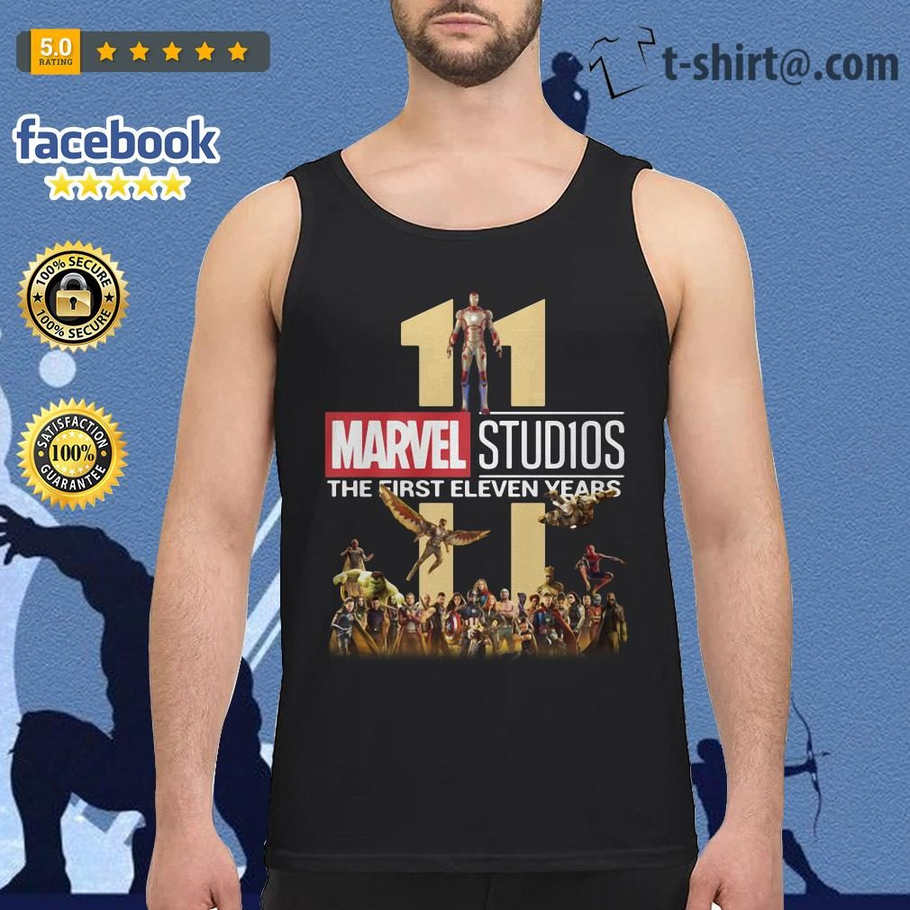 Marvel Studios the first eleven years Tank top