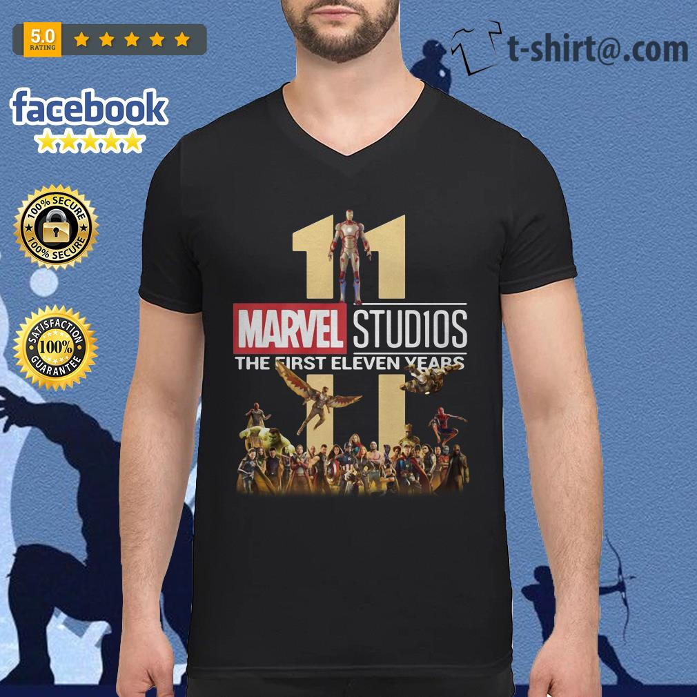 Marvel Studios the first eleven years V-neck T-shirt