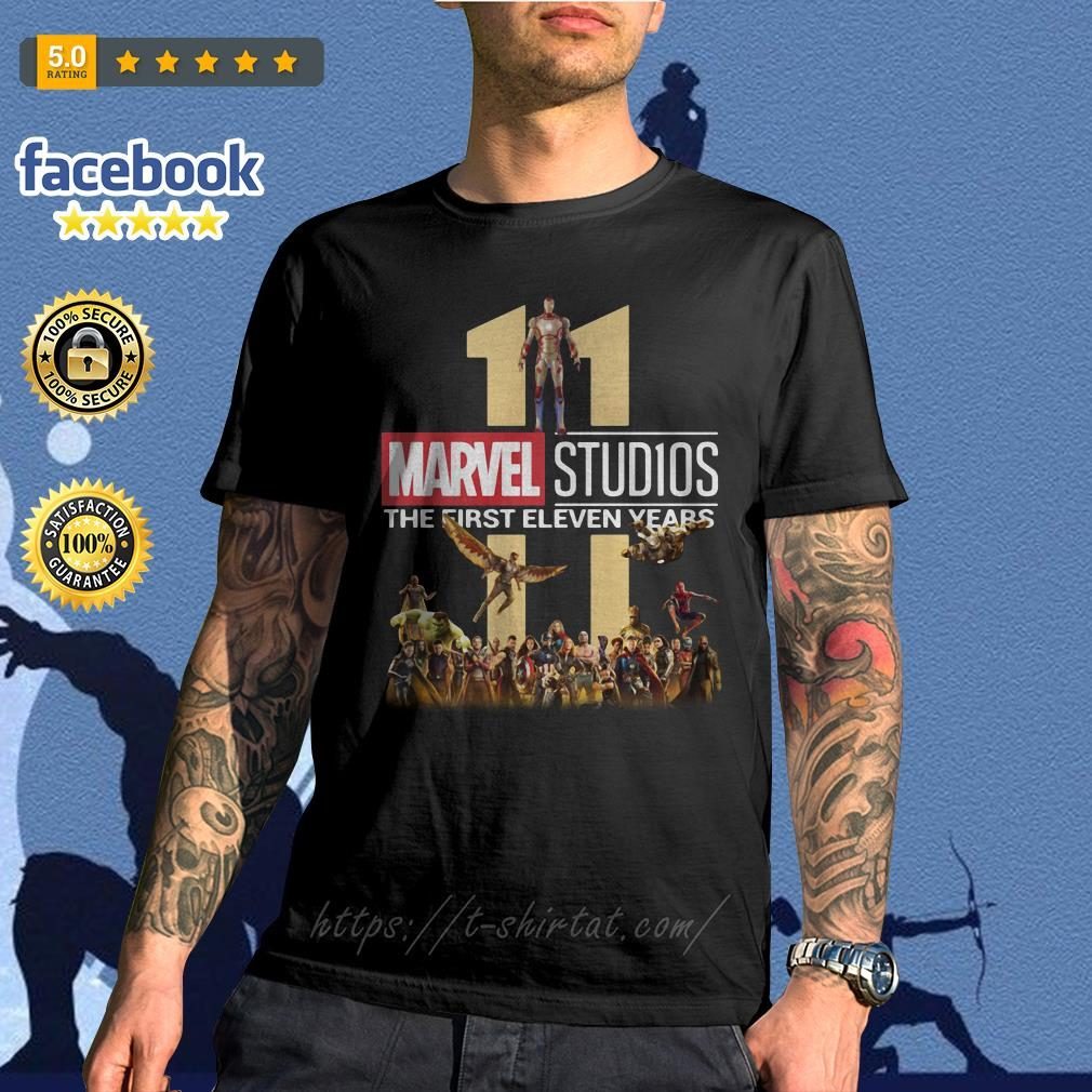 Marvel Studios the first eleven years shirtMarvel Studios the first eleven years shirt