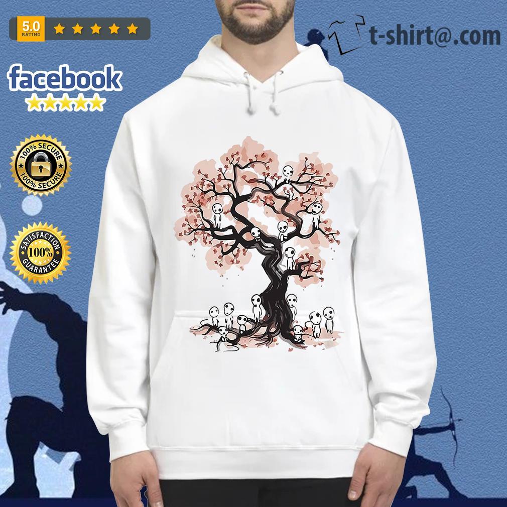 Mononoke forest spirit Sumi E Hoodie