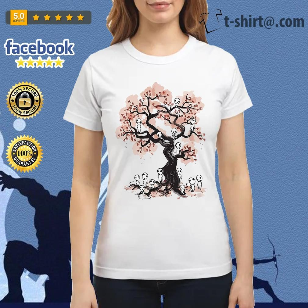 Mononoke forest spirit Sumi E Ladies Tee
