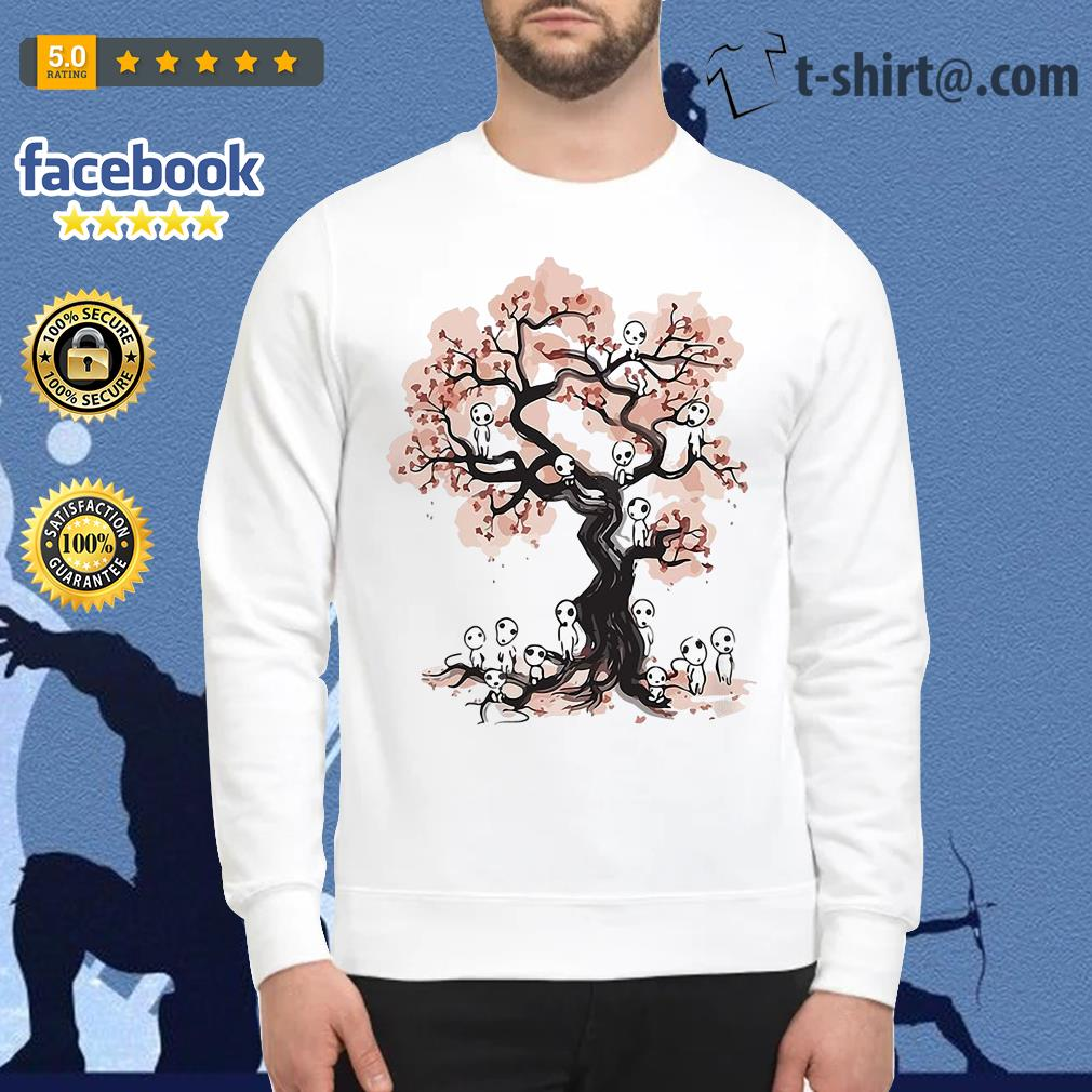 Mononoke forest spirit Sumi E Sweater
