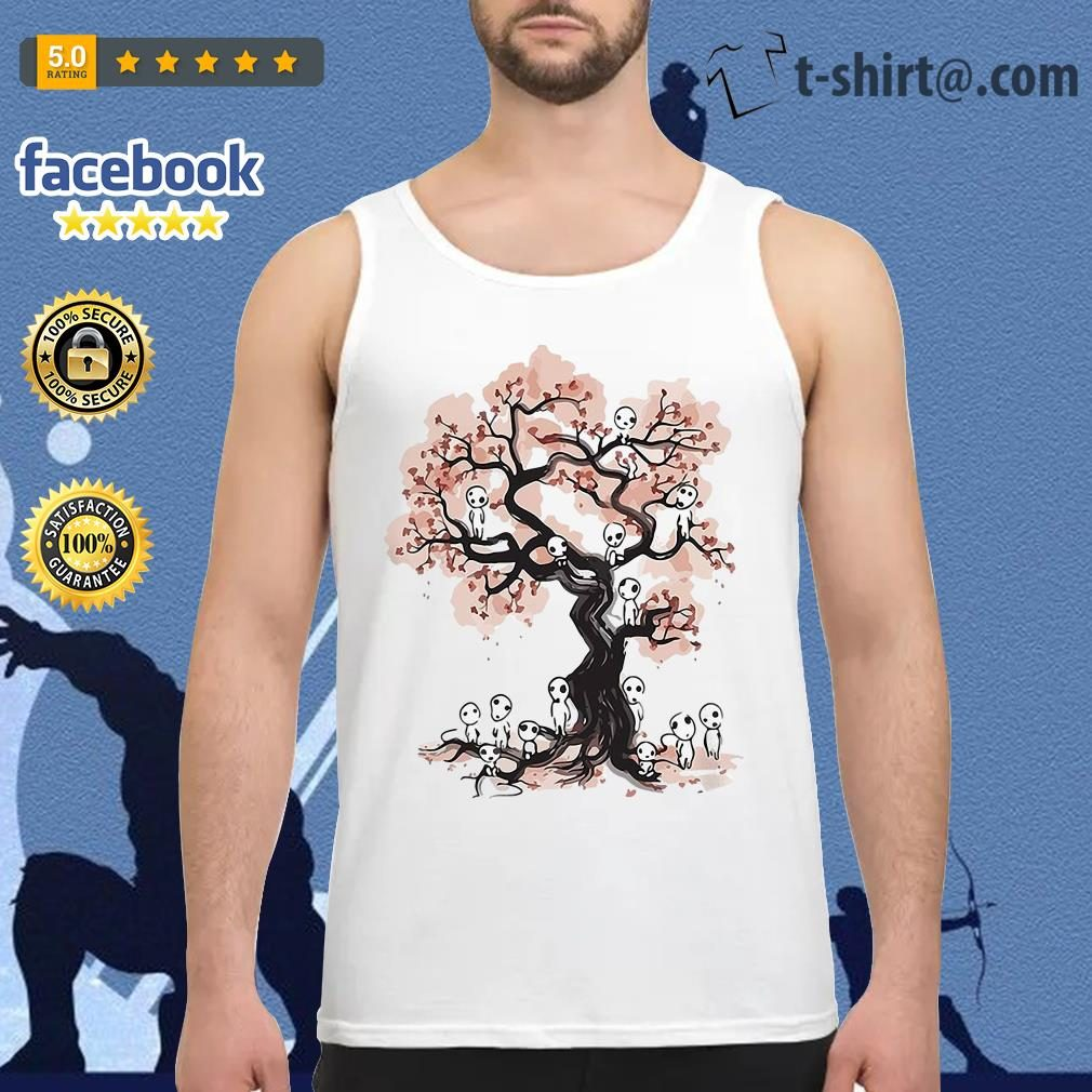 Mononoke forest spirit Sumi E Tank top