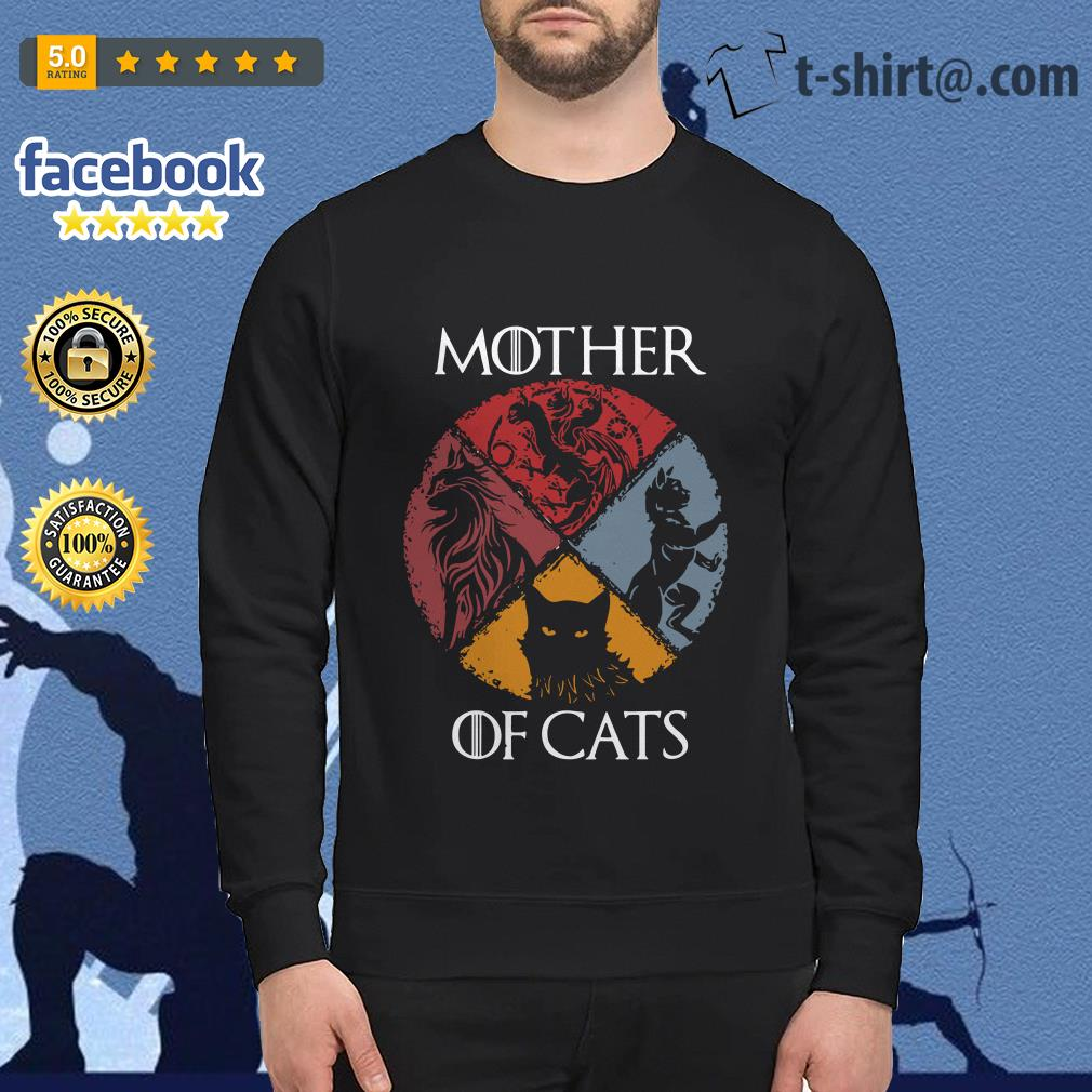Mother of cats vintage Game of Thrones Sweater