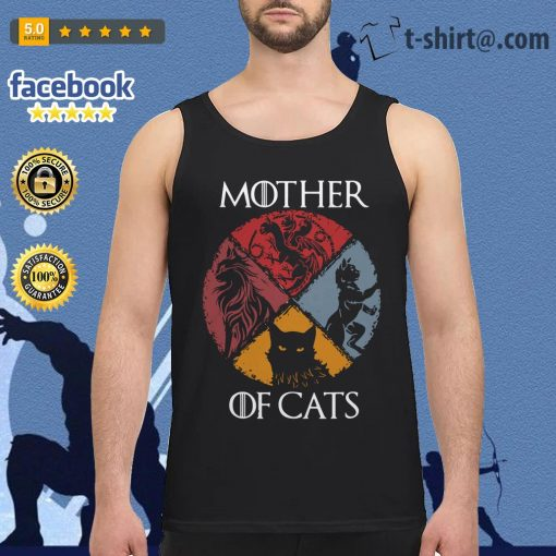 Mother of cats vintage Game of Thrones Tank top