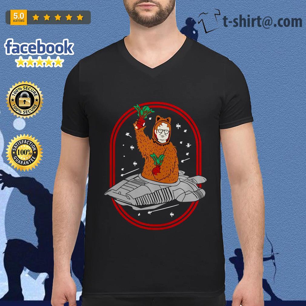Official bears beets Battlestar Galactica V-neck T-shirt