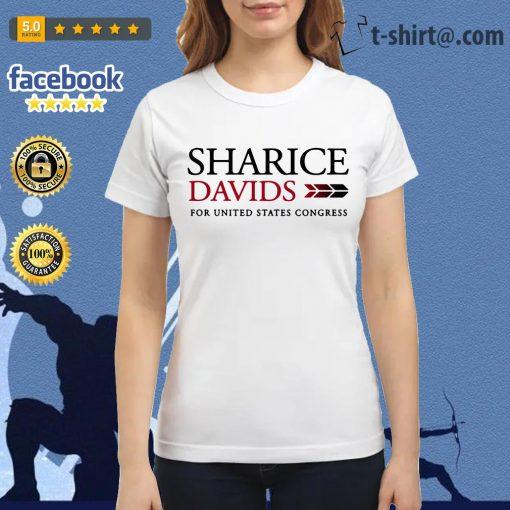 Sharice Davids for united states congress Ladies-tee