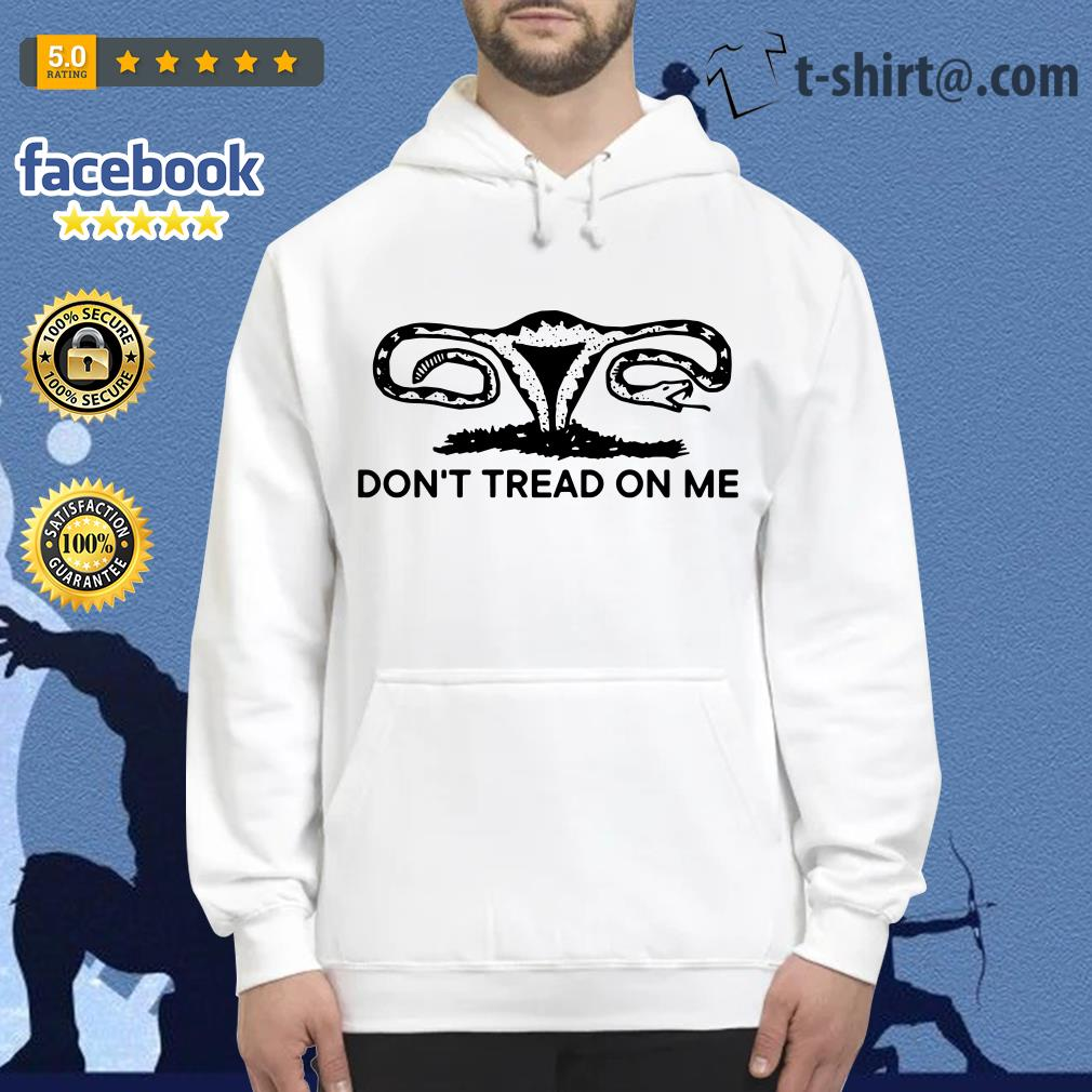 Snakes don't tread on me Hoodie