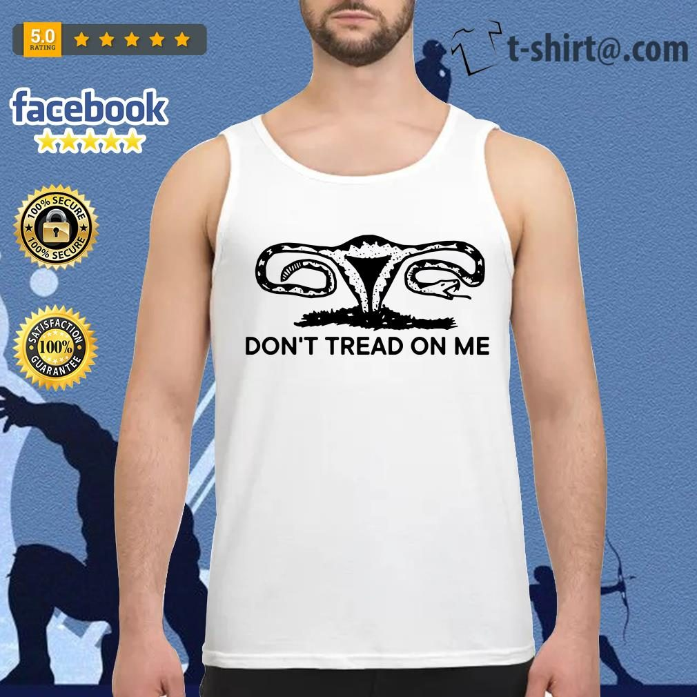 Snakes don't tread on me Tank-top