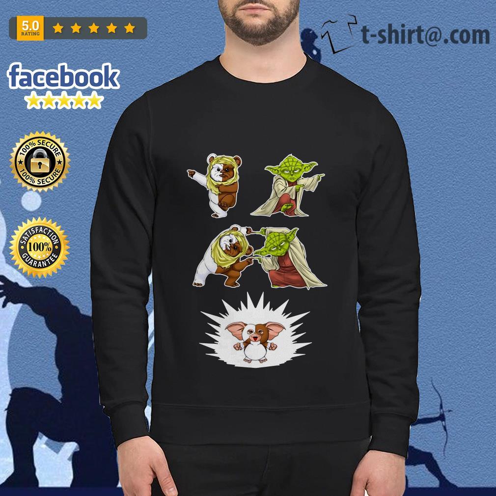 Star Wars Yoda Ewok and Gizmo fusion dance Sweater