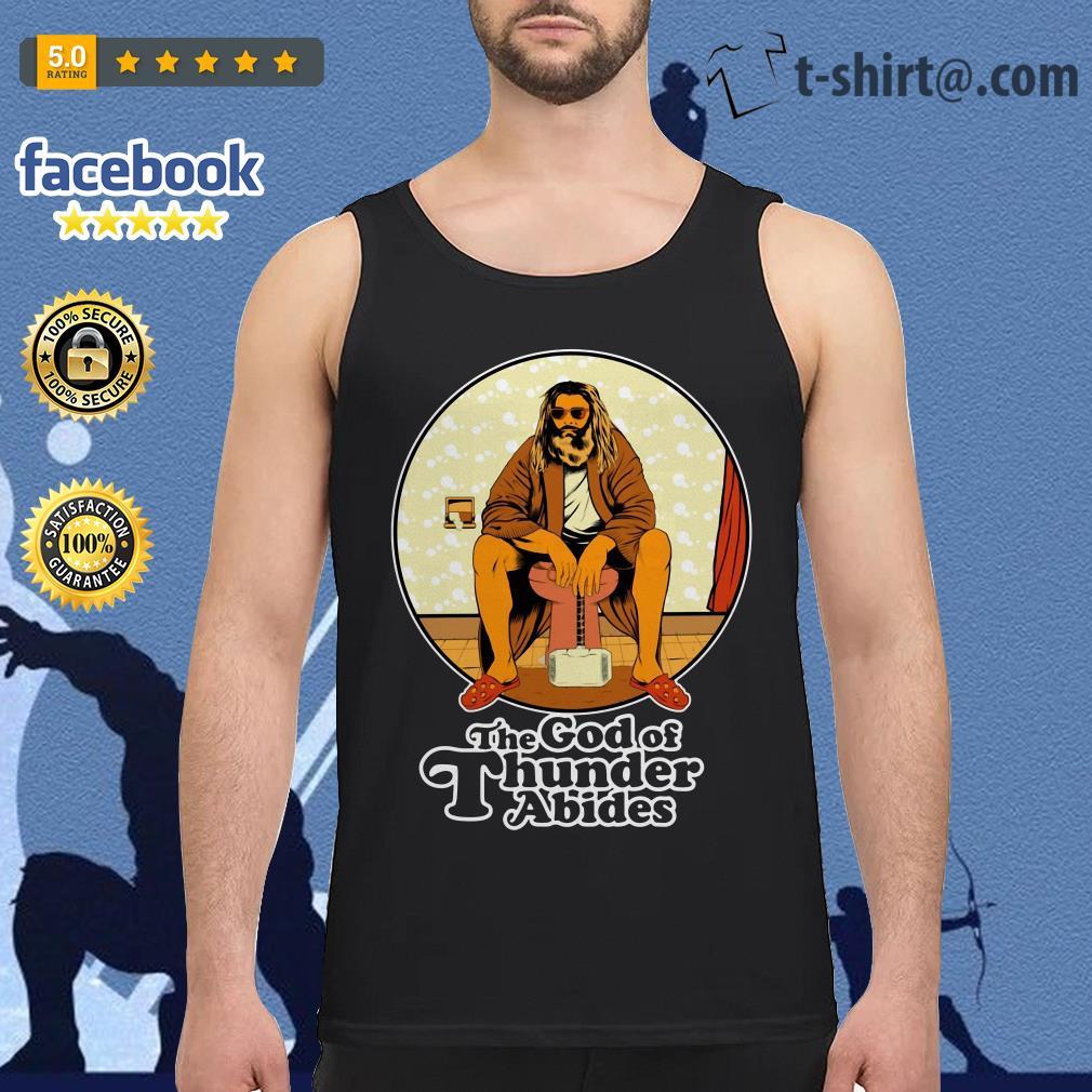 The God of Thunder Abides Tank top