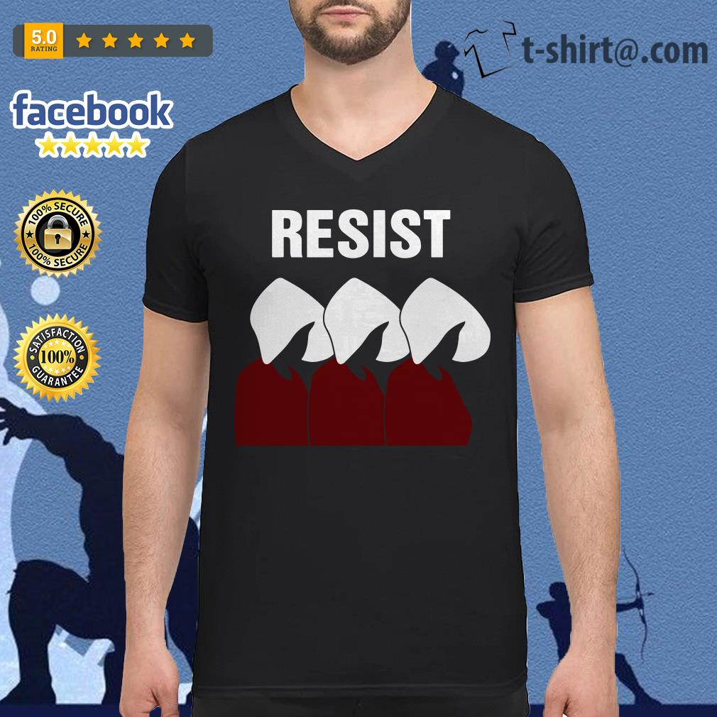 The Handmaid's Tale Resist V-neck T-shirt