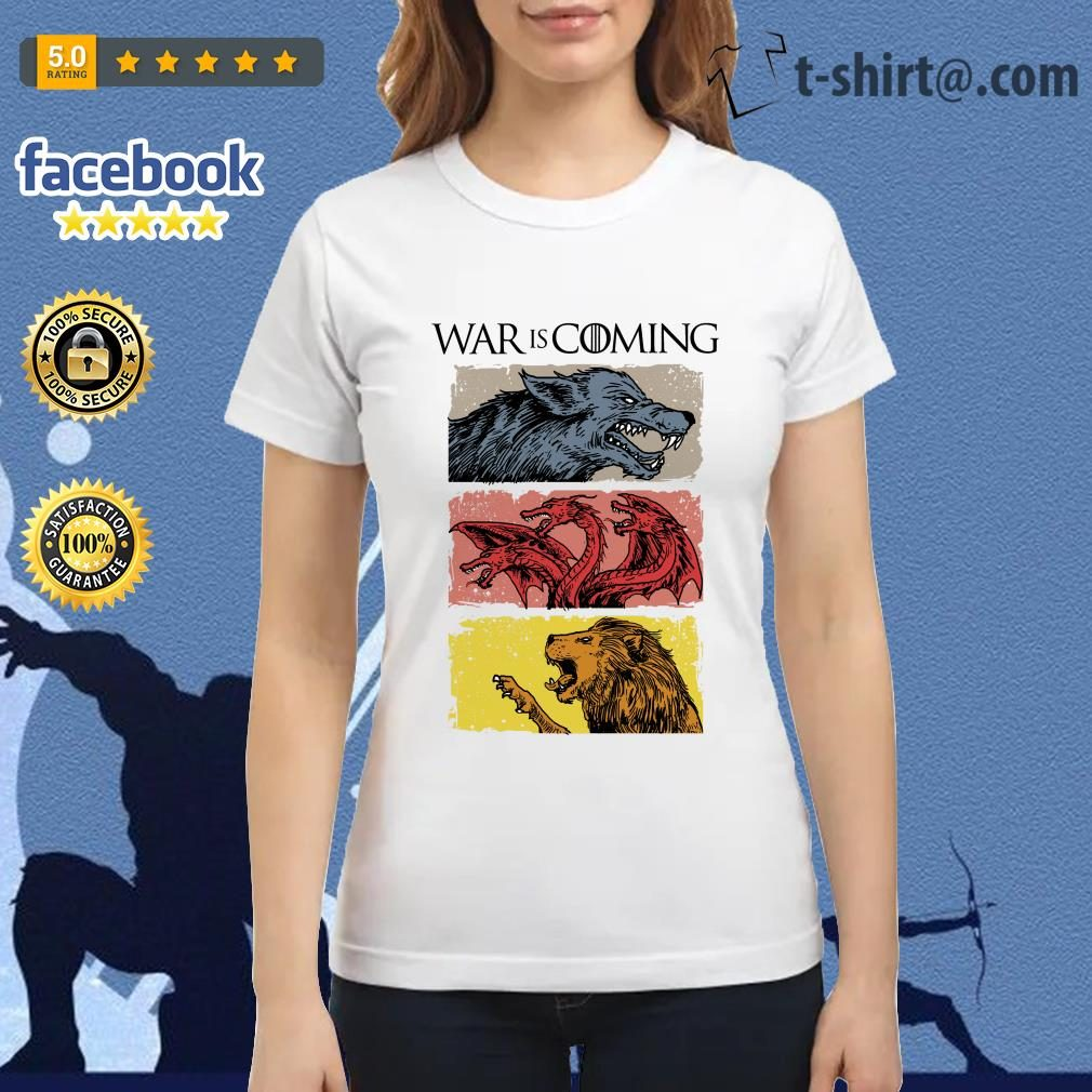 War is coming sublimation dryfit Game of Thrones Ladies Tee