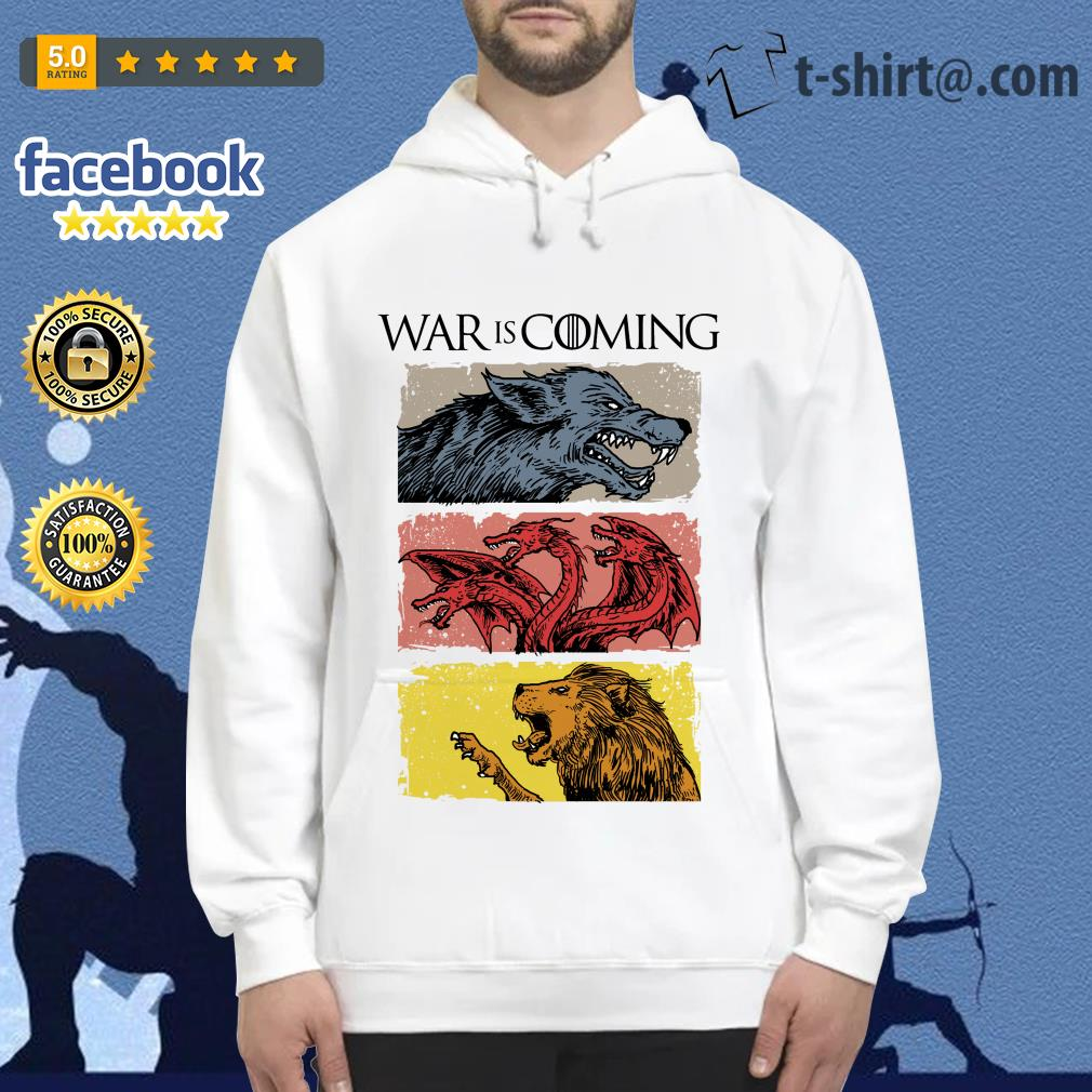 War is coming sublimation dryfit Game of Thrones Hoodie