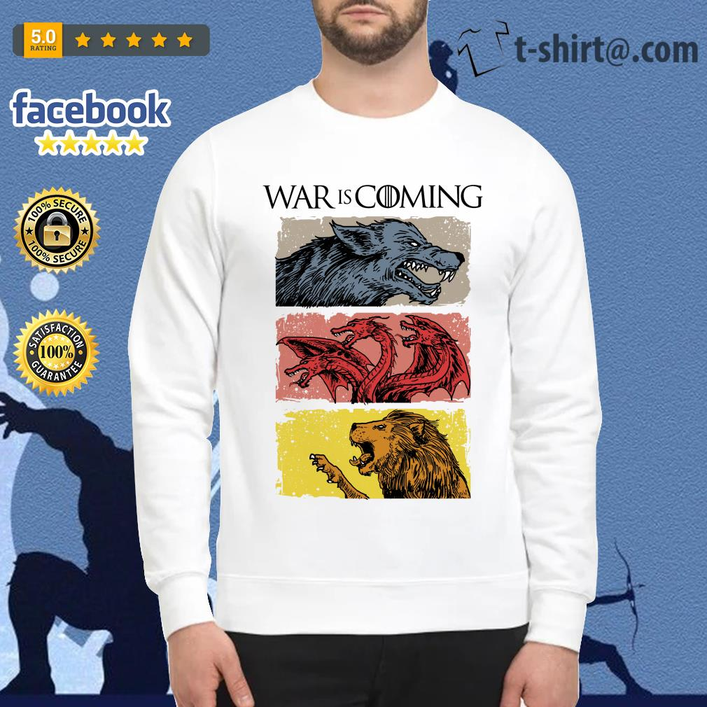 War is coming sublimation dryfit Game of Thrones Sweater