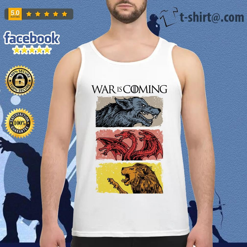 War is coming sublimation dryfit Game of Thrones Tank top