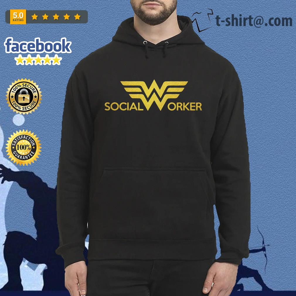 Wonder woman social worker Hoodie