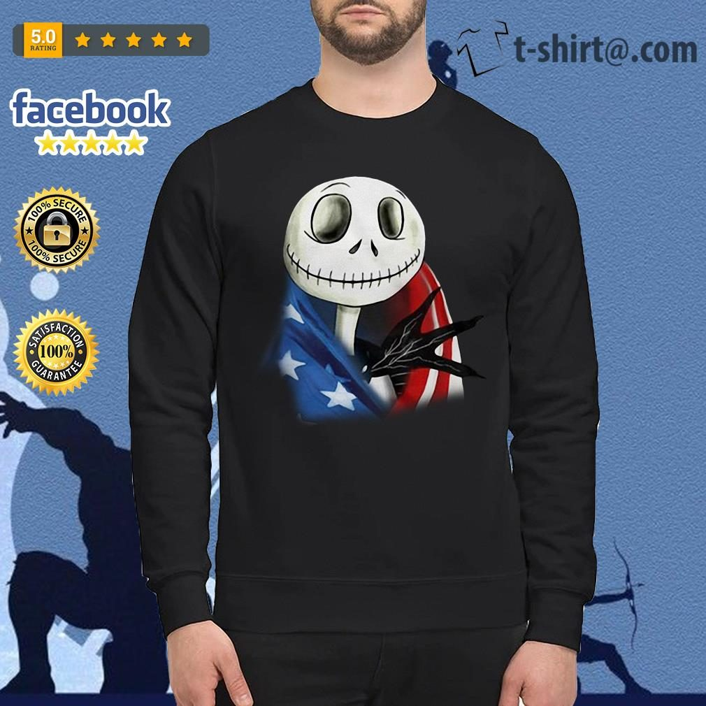 4th July independence day Skellington capes American flag Sweater