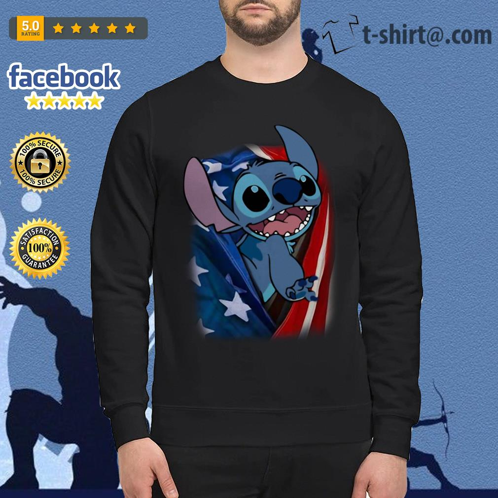 4th July independence day stitch capes American flag Sweater