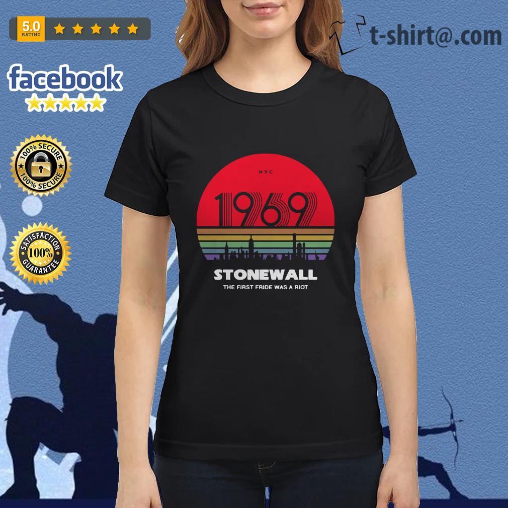 Pride Shirt 50th Anniversary Stonewall 1969 Was A Riot LGBTQ T-Shirt