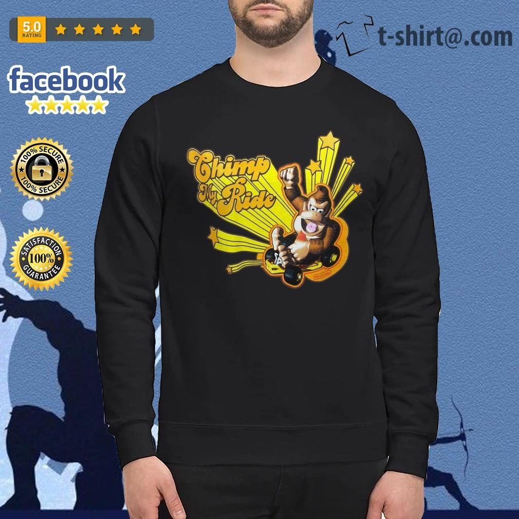 Donkey Kong Mario Kart Chimp my ride Sweater