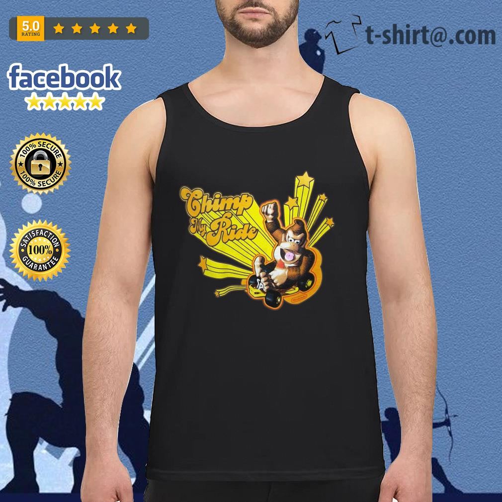 Donkey Kong Mario Kart Chimp my ride Tank Top